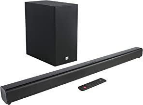 JBL Cinema SB150 Wireless Sound Bar with Compact Subwoofer (Black)