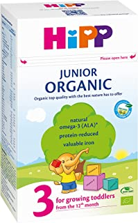 Hipp Organic Stage 3 Toddler Milk Formula, 500g