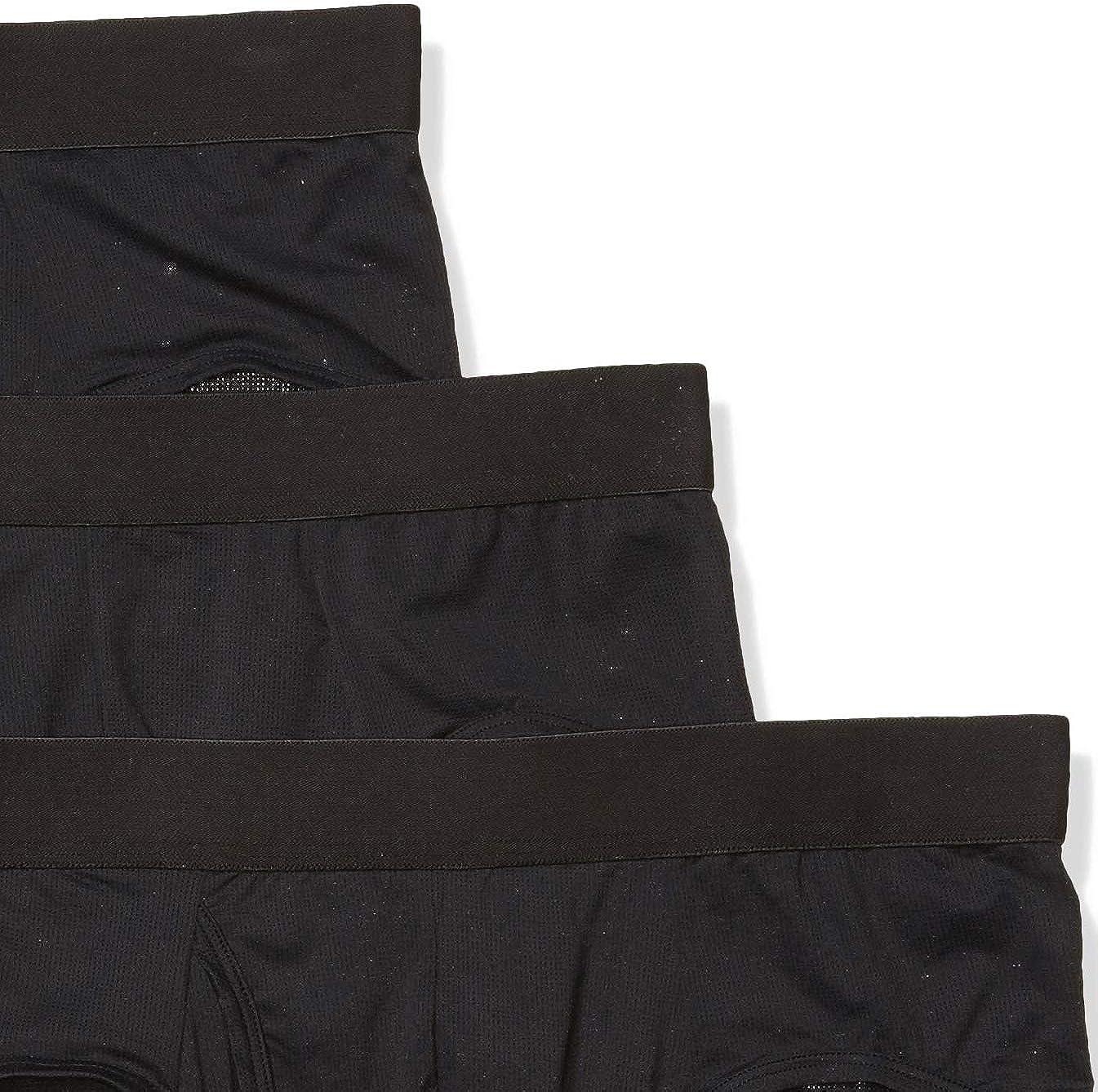 Goodthreads Men's 3-Pack Lightweight Performance Knit Brief