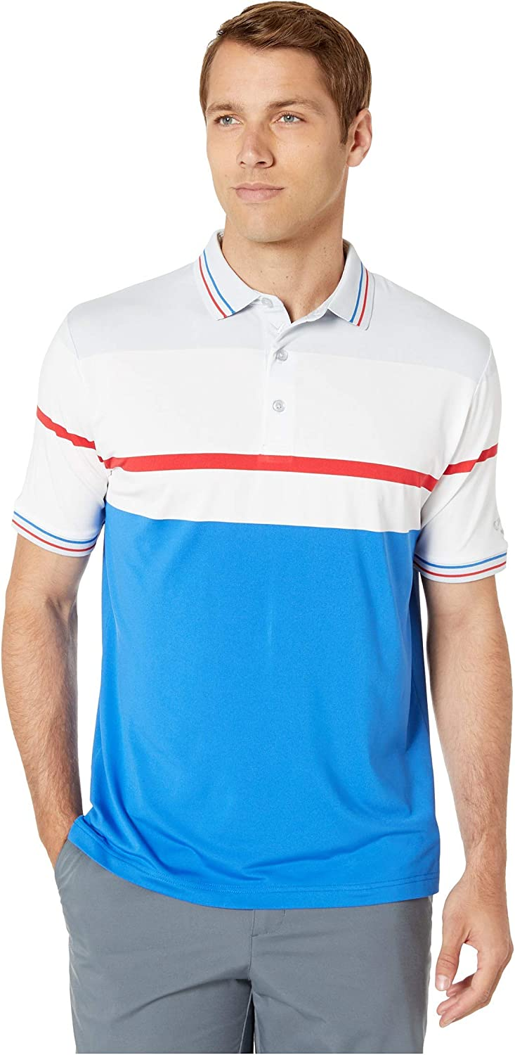 Callaway Men's Short Sleeve Yarn Polo Chest Striped Dyed All List price items free shipping