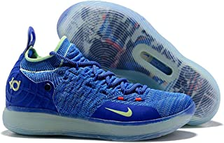 Talent-shop Big Boy Basketbal KD 11 Sport Zoom Shoes (Blue)