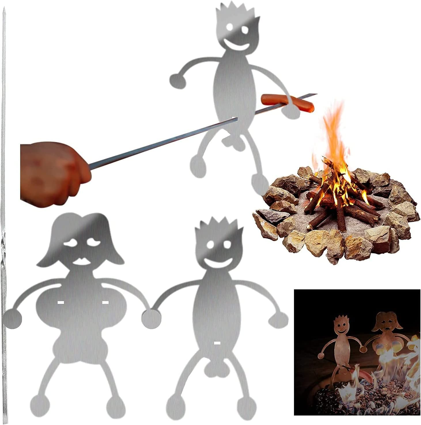 Barbecue fork Chicago Mall Steel Hot Roasters Ro Marshmallow Dog Soldering