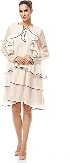 Sister Jane Layered Dress For Women - Cream L