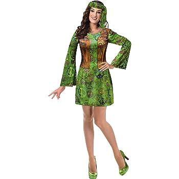 Brandsseller - Disfraz de hippie para hombre y mujer, varios ...