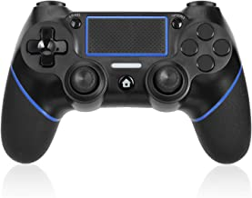 TGJOR PS4 Controller - Bluetooth Gamepad Six Axies DualShock 4 Wireless Controller for Playstation 4, Touch Panel Joypad with USB Cable
