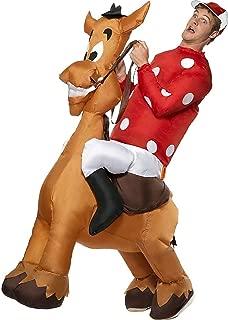 Big Boys' Inflatable Jockey And Horse Costume