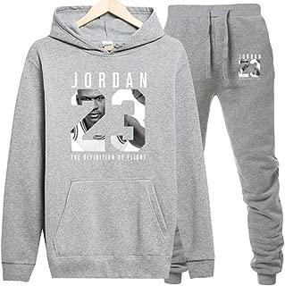 Jordan Hoodies Jordan 23 Sportwear Sets Male Sweatshirts Men Set Clothing+Pants