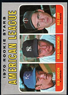 Baseball MLB 1970 Topps #702 Bob Johnson/Ron Klimkowski/Bill Zepp Rookies Stars RC