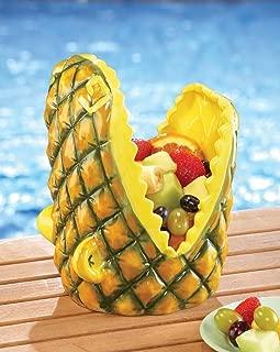 Pineapple Alligator Head Serving Bowl
