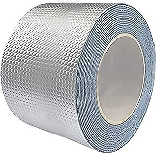 テープ 超強力 防水 耐熱テープ ラブリ- 屋根 水漏れ 補強テープ 壁 台所 配管 浴槽 ひび割れ 補修 屋内 屋外業務 家庭 工業 多用途 幅20cmx長さ500cm、ホワイト(1個入り)