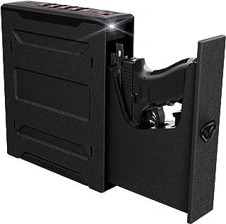 Vaultek Slider Series Rugged Bluetooth Smart Handgun Safe Quick Open Pistol Safe with Rechargeable Li-ion Battery