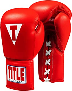 Title Classic Leather Lace Training Gloves 2.0