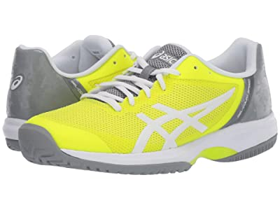 ASICS Gel-Court Speed (Safety Yellow/White) Women