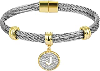 Luxury Packaging Alphabets Initial Wire Bracelets & Necklaces - Quality Guaranteed