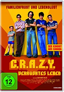 C.R.a.Z.Y.-Verrücktes Leben (Dvd) [Import allemand]