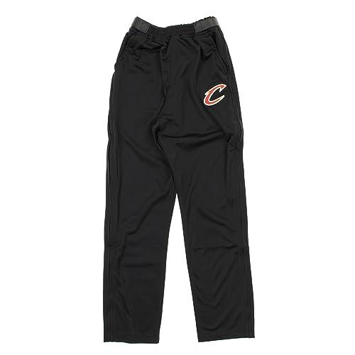 brand new 2edce 5b3cf Zipway NBA Mens Cleveland Cavaliers Tricot Tearaway Pants, Black