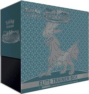 Pokemon Card Game Crimson Invasion Silvally Elite Trainer Box