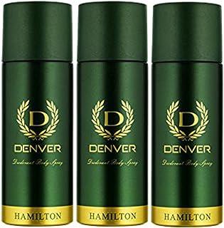 Denver Hamilton Deo Body Spray (Green, body spray) - Pack of 3