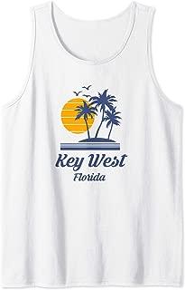 Key West Florida FL Beach Tourist Surf Travel Souvenir Gift Tank Top