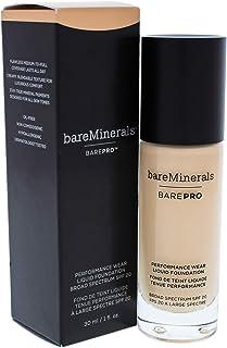 bareMinerals Barepro Performance Wear Liquid Foundation SPF 20 for Women, 04 Aspen, 1 Ounce