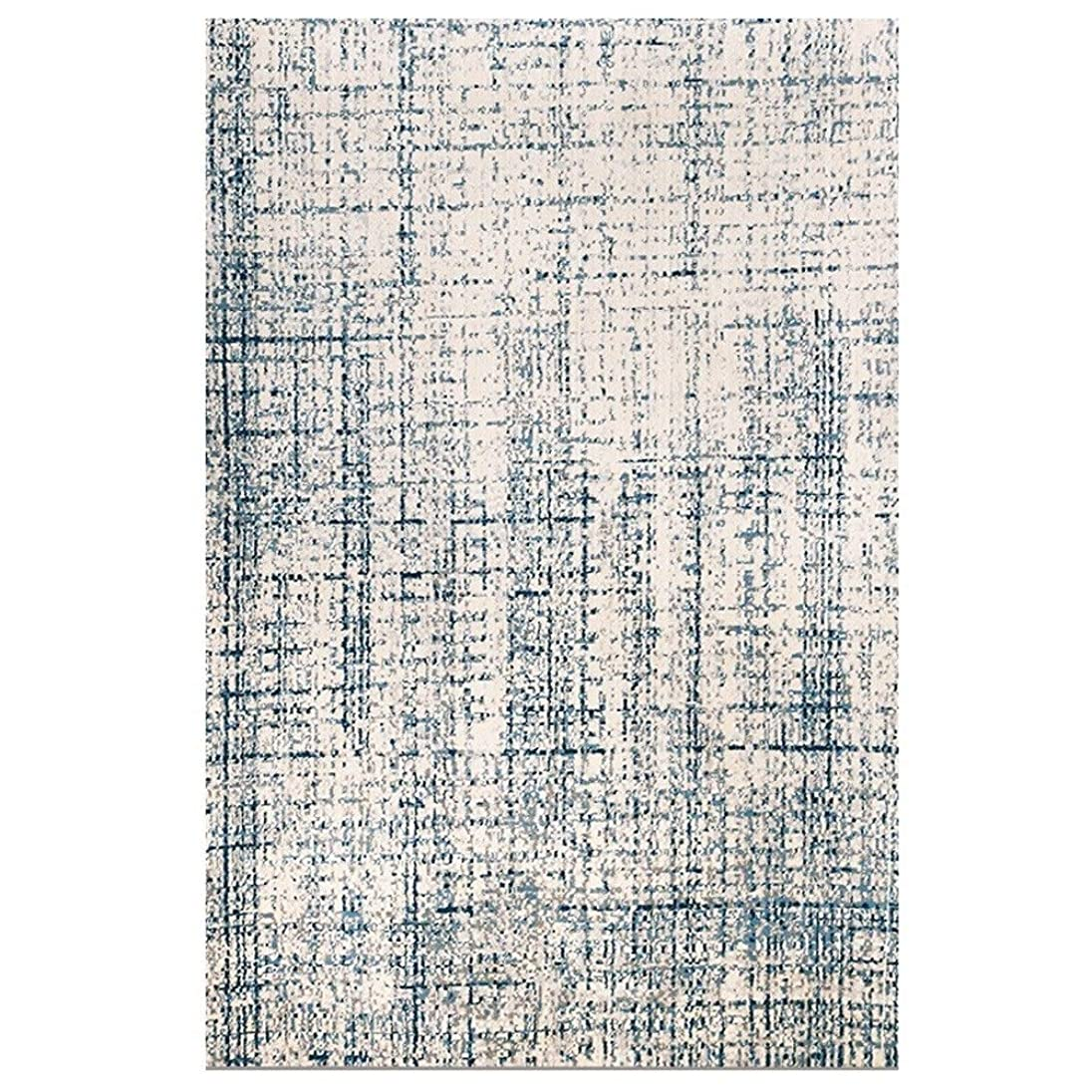 透過性パドル類似性ラグリビングルーム、ヘアリーインテンシブパイルウールノルディックメタルスタイルはモダンでシンプルです。リビングルームのコーヒーテーブル寝室面積カーペット (Color : C, Size : 160×230CM)
