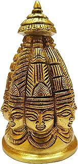 Worth Praize 真鍮アイドルシヴァ・シュチュパ神:レア8面オムニプレセントシヴァ像