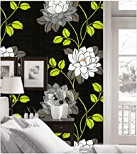 DWIND D1294-1 Peel and Stick Wallpaper Flower Contact Paper Self Adhesive For Furniture Kitchen Countertop Table Door DIY ...