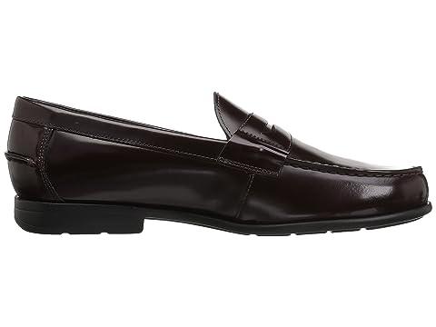 Drexel Loafer KORE Moc Walking Bush con Penny Technology Burgundy Comfort Toe Nunn wX54Tqa