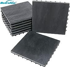 1 Karton Terrassenplatten Quarz anthrazit im Format 60x60cm aus Feinsteinzeug 2cm stark Terrassenplatten in Steinoptik
