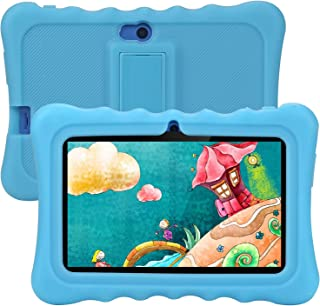 Kids Tablet, Tagital T7K Plus 7 Inch Android 9.0 Tablet for Kids, 1GB +16GB, Kid Mode Pre-Installed, WiFi Android Tablet, Kid-Proof Case (Blue)
