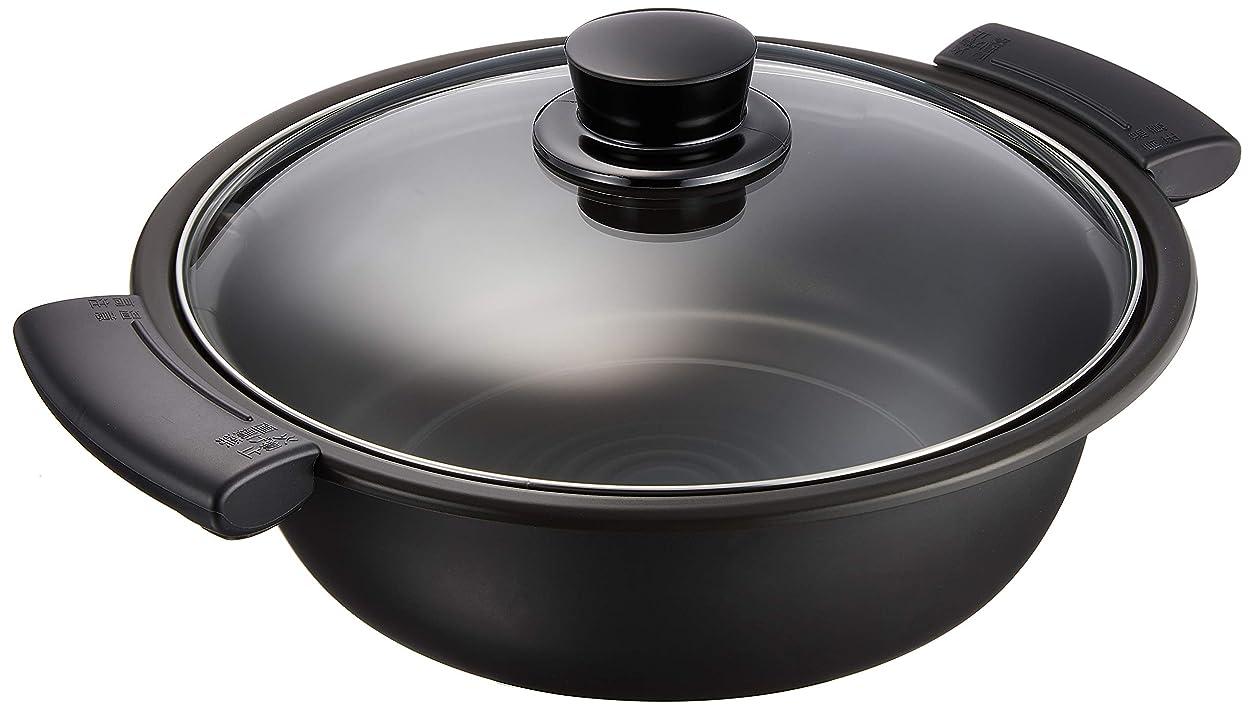 ユダヤ人額窒息させるパナソニック IH調理器用斡旋鍋 ブラック KZ-AN10-K