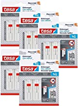 tesa Tesa Powerstrips Verstelbare plakspijker voor behang en pleister/zelfklevende spijkers (10 nagels (1 kg))