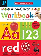 Cover image of Pre-K Wipe-Clean Workbook by Scholastic & Scholastic Early Learners