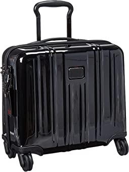 Tumi V3 Compact Carry-On 4 Wheel Briefcase