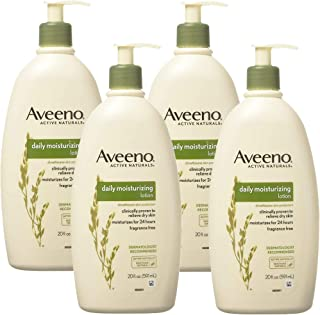 Active Naturals Daily Moisturizing Lotion, NEW 4 packs of 20 FL oz Pump