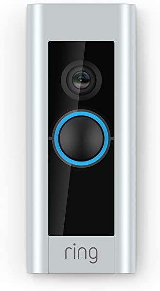 Ring Video Doorbell Pro With HD Video Motion Activated Alerts Easy Installation Existing Doorbell Wiring Required