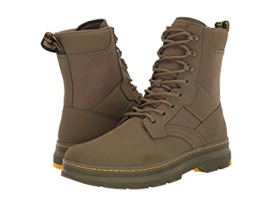 Dr. Martens Iowa Tract II (DMS Olive Turby Split/Extra Tough Nylon) Shoes