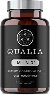 Neurohacker Collective Qualia Mind Qualia Mind Nootropics | Top Brain Supplement For Memory, Focus, Mental Energy, And Con...