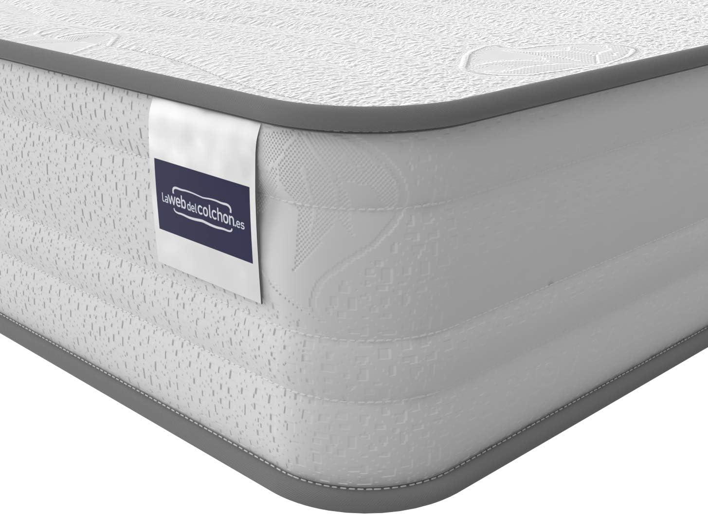 LA WEB DEL COLCHON - Colchón Basic Cama Nido 75 x 190 (Medida Especial) x 14 cms.