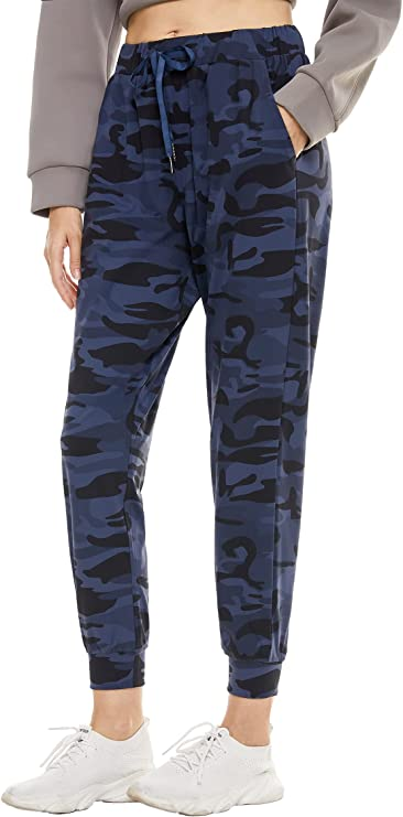 Xuvozta Women Quick-Dry Joggers Lightweight Sweatpants 4-Way Stretch Lounge Pants with Pocket