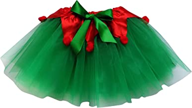 Adult, Plus, Kids Christmas Party, Play, Elf or Santa's Helper Green Tutu Skirt