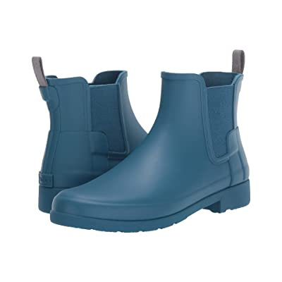 Hunter Original Refined Chelsea Boots (Rock Pool) Women