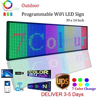 Best outdoor led scrolling signs Reviews