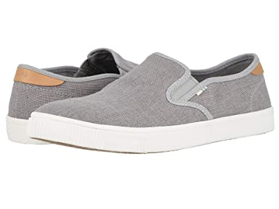 TOMS Baja (Drizzle Grey Heritage Canvas) Men