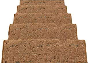 HAIPENG Stair Carpet Treads Pads Mats Non Slip Step Rugs Rectangular Staircase Ottomans, 12mm, 3 Sizes, 5 Colors (Color : ...
