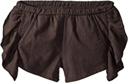 Super Soft Ruffle Side Shorts (Toddler/Little Kids)