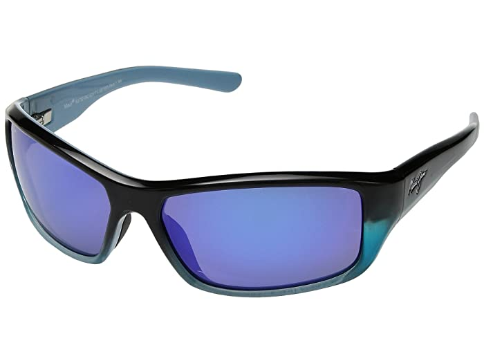 Barrier Reef (Blue/Turquoise/Blue Hawaii) Athletic Performance Sport Sunglasses