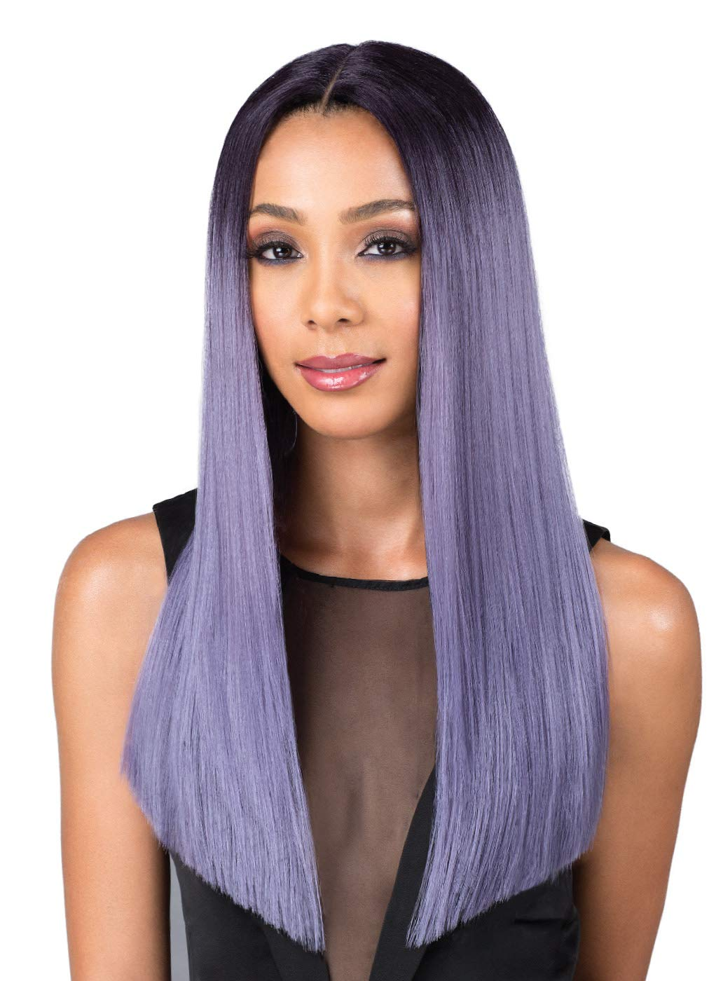 Bobbi Boss Premium Synthetic Swiss Lace Wig 売店 LO MLF202 YARA 安心の実績 高価 買取 強化中 Front