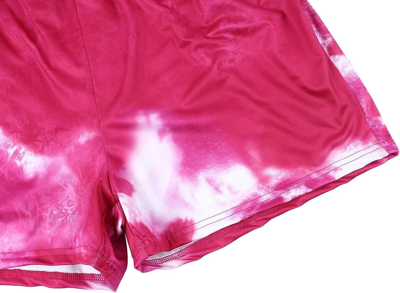 Women's Plus Size Clothes Set Summer Oversized T Shirt Bodycon Biker Shorts Tracksuit Set 2 Piece Outfits Set