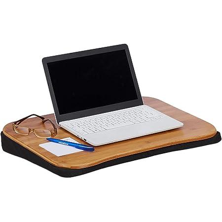 Relaxdays Cuscino Poggia Computer Bambu Rimovibile Con Manico Supporto Pc Portatile Lxp 51x37 Cm Fino A 22 Naturale Amazon It Informatica